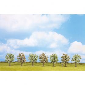 Fruktträd blommande, 7 st, 8 cm -Noch 25092