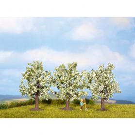 Fruktträd, blommande i vitt -Noch 25511