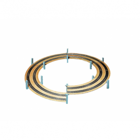 Helix - spiral utbyggnad radie 360mm 1-spårig -Noch 53101
