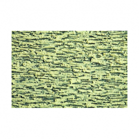 3D Stenmur, grå -Noch 57430