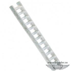 Ladders, white metal