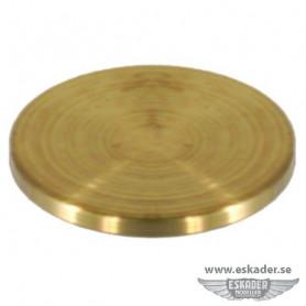 Round plates (brass)