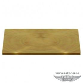 Rectangular plates (brass)