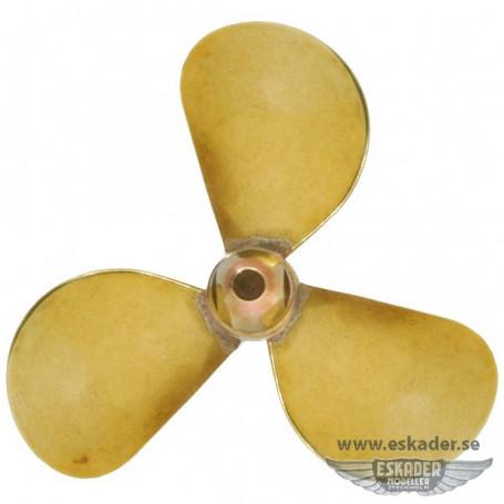 Propellers, 3 blades (brass)