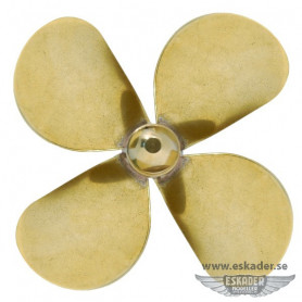 Propellers, 4 blades (brass)