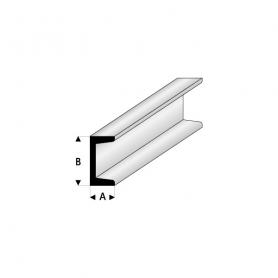 Styrene profile - Channel