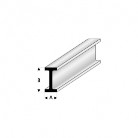 Styrene profile - I-beam