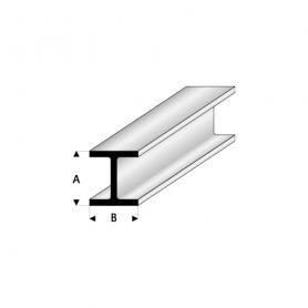 Styrene profile - H-column