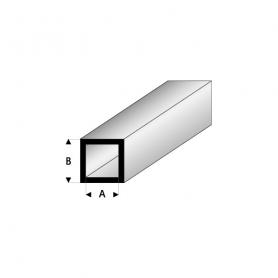 Styrene profile - Square tube