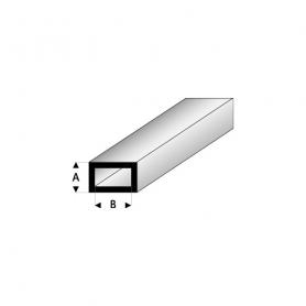 Styrene profile - Rectangular tube
