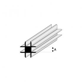 Styrene profile - Cross connector