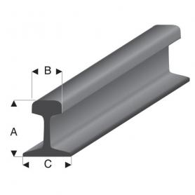 Styrene profile - Rail