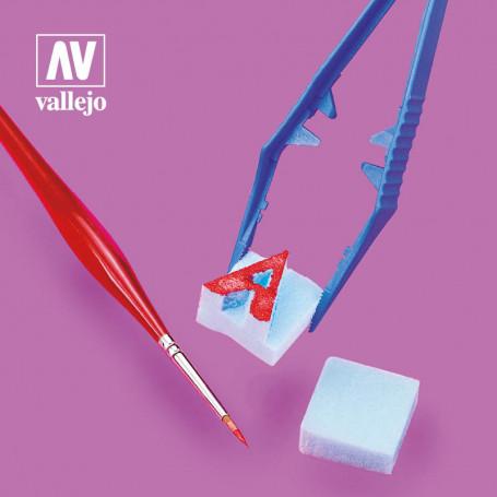 Plastic tweezers, Vallejo (12006)