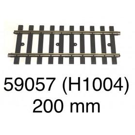 59057 Märklin track 200 mm - gauge 1-second hand