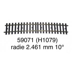 59071 Märklin curve track radius 2.461 mm 10° - gauge 1-second hand