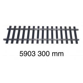 5903 Märklin track 300 mm - gauge 1-second hand