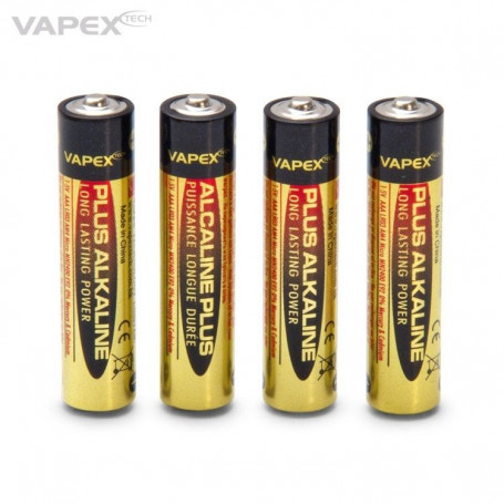 Vapex batteries AAA 4 pieces