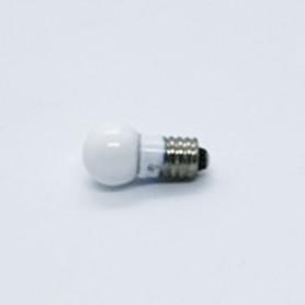 Lightbulb white / large- thread 5,5 mm 19 V