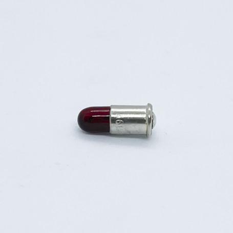 Lightbulb red - MS4 (Bullet) 19 V