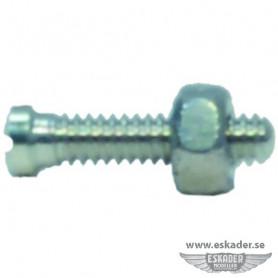 Machine screws + nuts