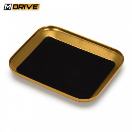 Skruv & Mutter Bricka Magnetisk Guld 106x88mm