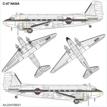 Douglas C-47 NASA