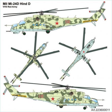 Mil Mi24D Hind D VVS Red Army