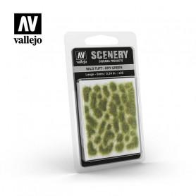 Vallejo-Wild Tuft, Dry green 6mm