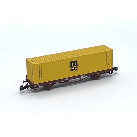 "FR46.807.11B SJ Lgs741 Container car ""MSC"""