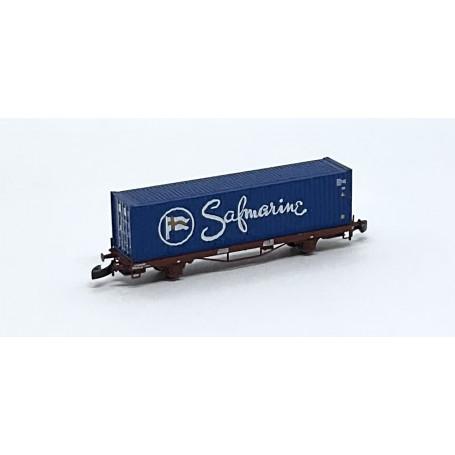 """FR46.807.11C SJ Lgs741 Container car """"Safemarine"""""""