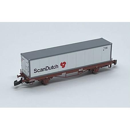 """FR46.807.10 SJ Lgs741 Container car """"ScanDutch"""""""
