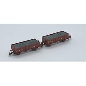 FR46.809.12 SJ Eo vagnar med last, 2st