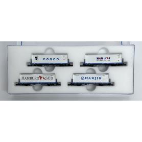 FR46.818.34 Containervagnar 4st