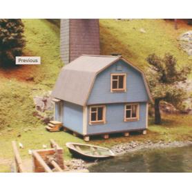 Joswood Svensk villa med Mansardtak