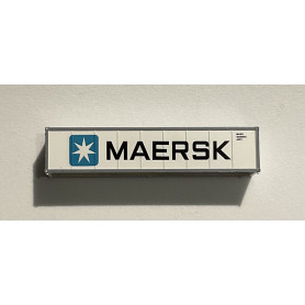 40´Container Maersk (White)