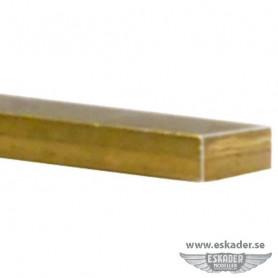 Brass, flat bars