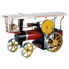 Mamod SHOW Steam roller with roof and light bulbs