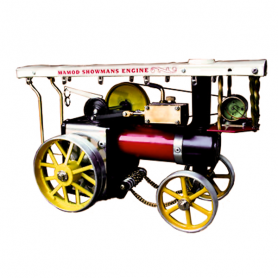 Mamod SHOWSP Steam roller with roof and light bulbs
