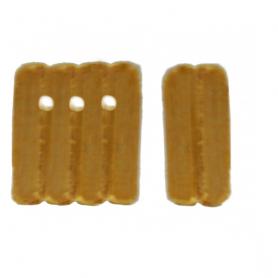 Blocks, triple - discontinued (wood)