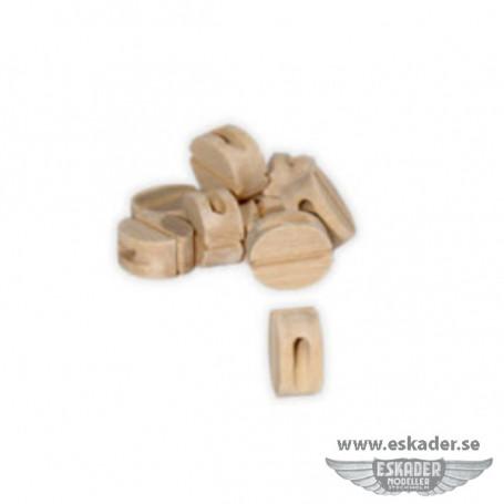 Blocks, single (wood)