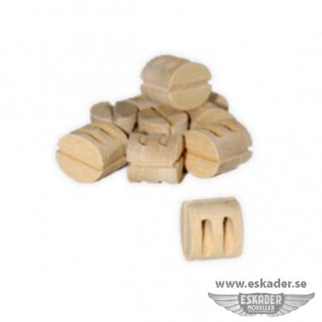 Blocks, double (wood)