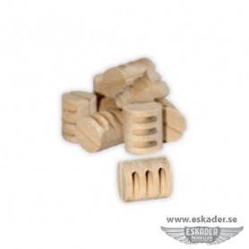 Blocks, triple (wood)