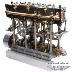 Steam engine, tripple expansion