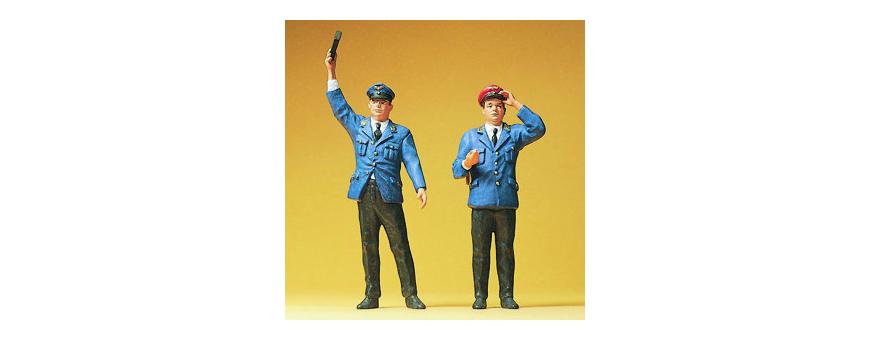 Railroad personnel