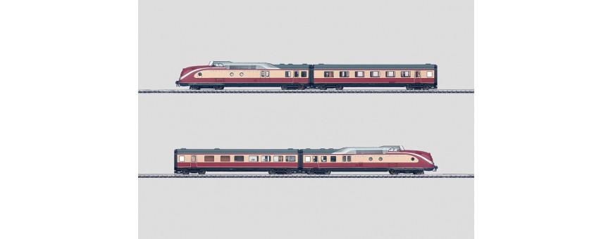 Powered rail cars