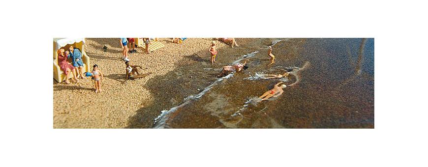 Sand, strömaterial