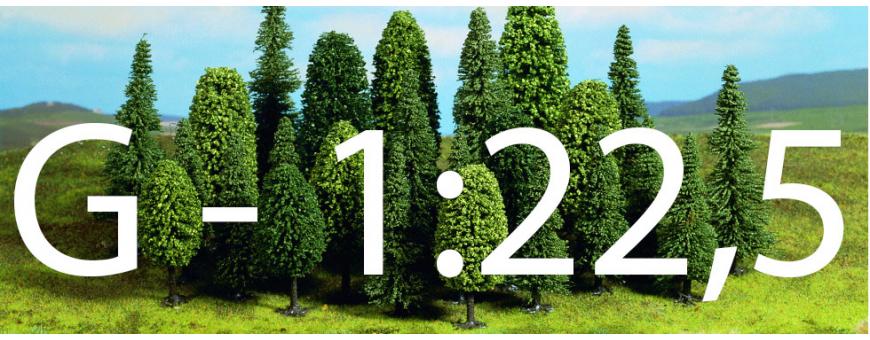 Skala 1:22,5 - G